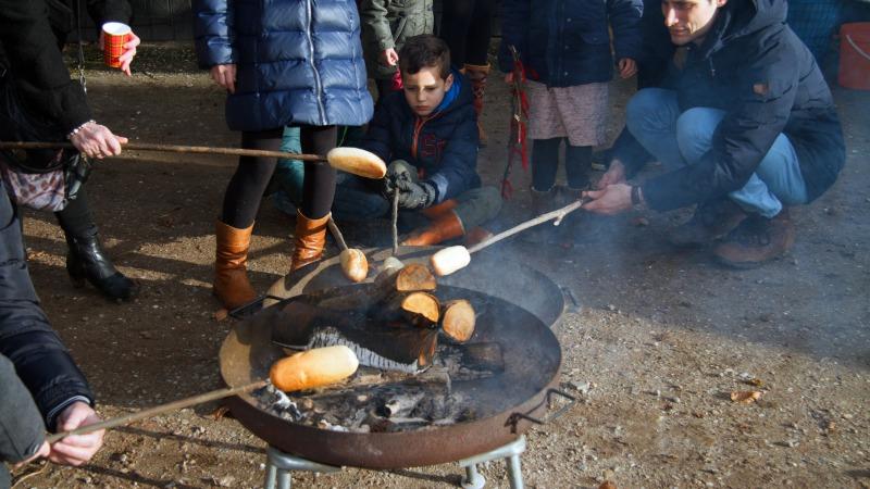 Kinderactiviteit 'Vuurtje stoken en broodjes bakken' bij Watermolen Frans