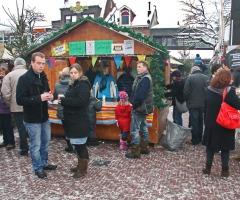 Oldenzaal in Weihnachtlicher Atmosphäre