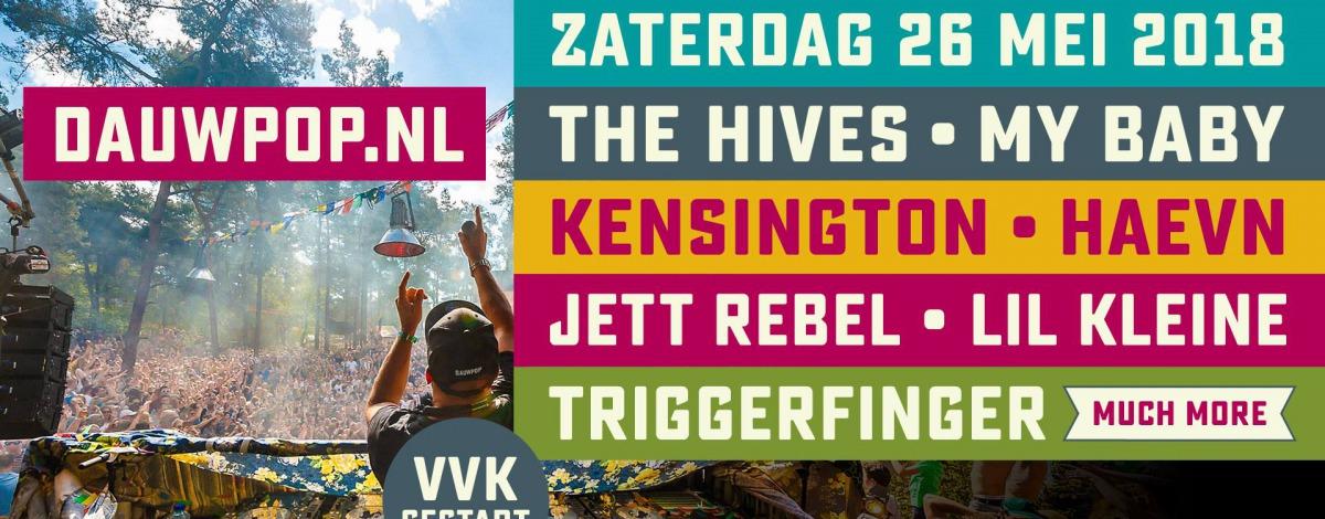 Dauwpop 2018 - Het muziekfestival van Oost Nederland
