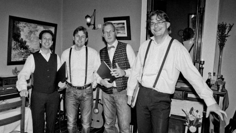 Concert Oldenzaalse zangkwartet Voices in Four