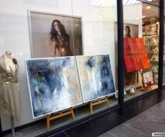 Kunst im Schaufenster