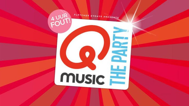 Qmusic the Party - 4uur FOUT! in De Lutte