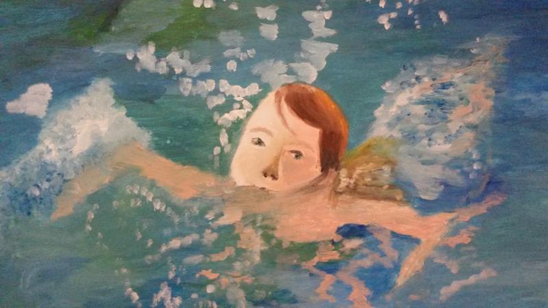 Expositie Zwembad  De Kolk van Tineke Boer