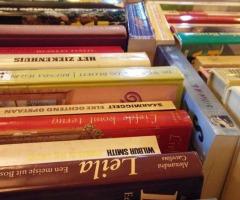 Grote boekverkoop