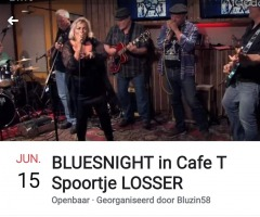 Bluesnight in café 't Spoortje