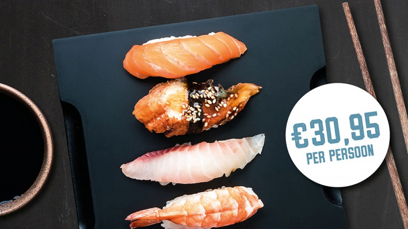 Sushi avond bij Toi Toi