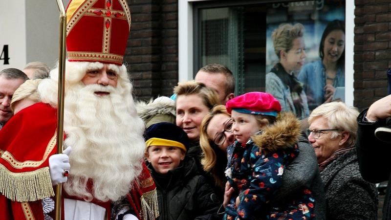 Intocht Sinterklaas in Rijssen