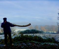 Mittwinter Hornwanderung mit einer Geschichte