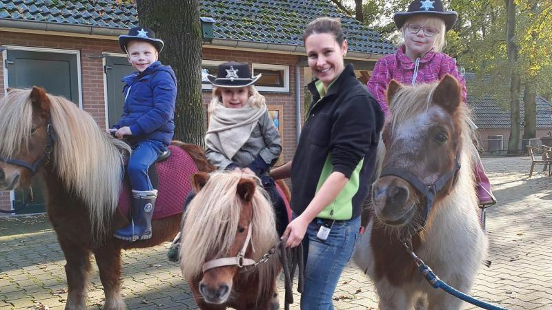 Pony- en/of ezelritjes bij Dondertman