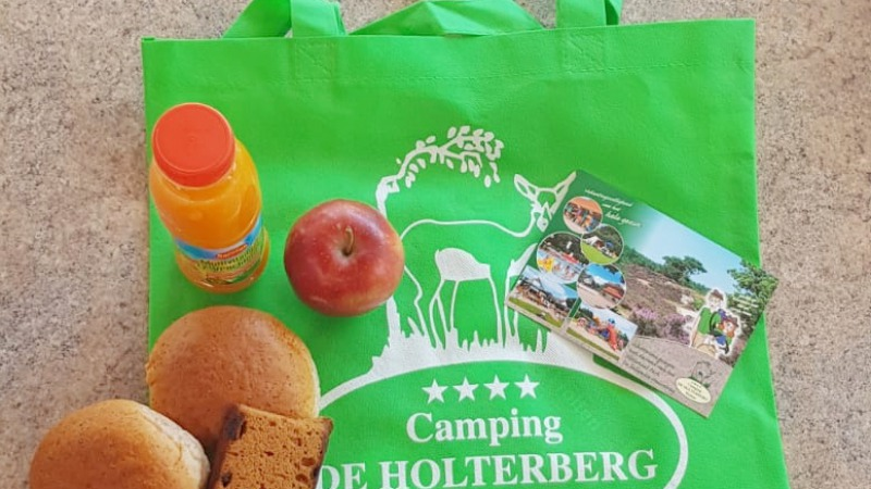 De picknicktas van Camping de Holterberg