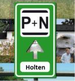 Parkeren P+N Holten Dorp