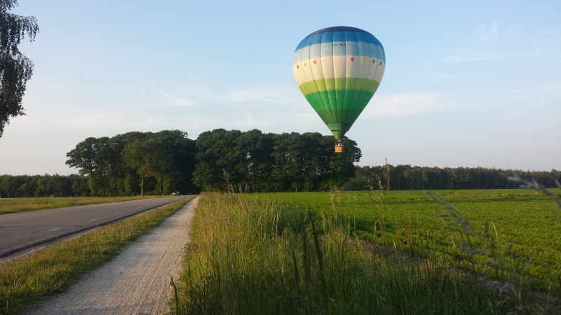 Ballonvaarten boven Rijssen-Holten e.o.