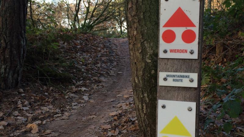 MTB-route Wierden