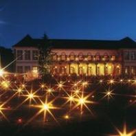 Fakkels en lampions in Bad Bentheim
