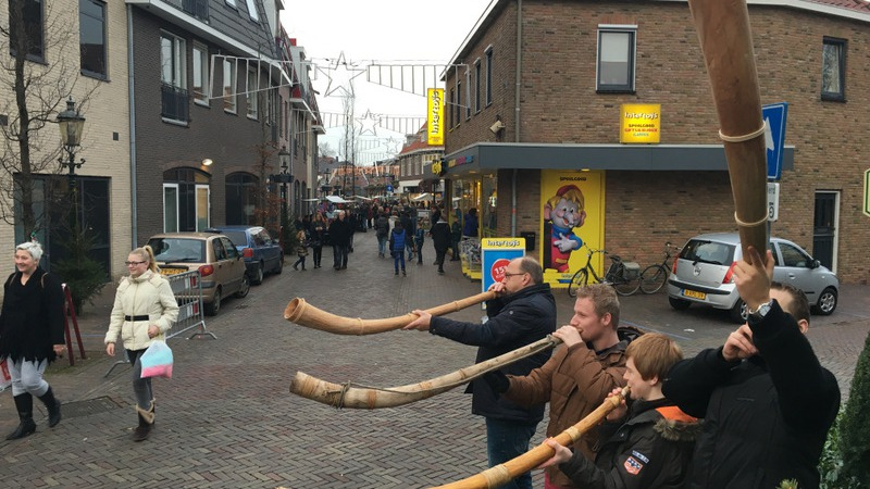 Kerstfair en koopzondag in Losser