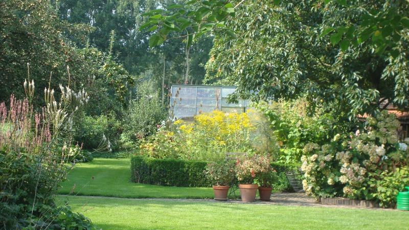 Tuinstruinen in de kop van Overijssel