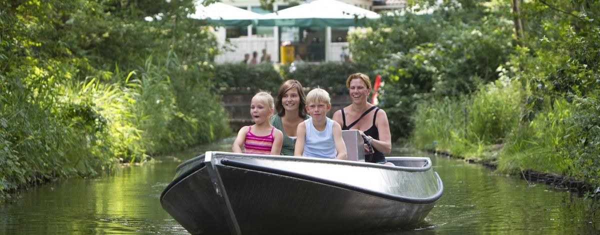 Varen met een fluisterboot