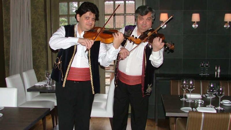 Optreden George Constantin bij Restaurant Watermolen Bels
