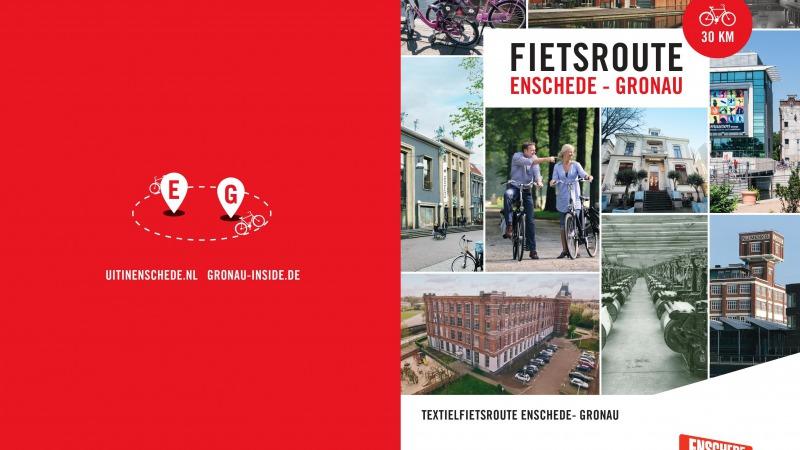 Grenzüberschreitende Fahrradroute Enschede-Gronau