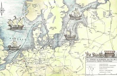 Neun Hansestadte Die Durch Das Wasser Verbunden Sind Holland Hanse