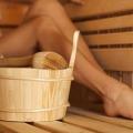 Verwenarrangement Sauna De Wilder