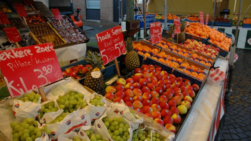Weekmarkt Hengevelde