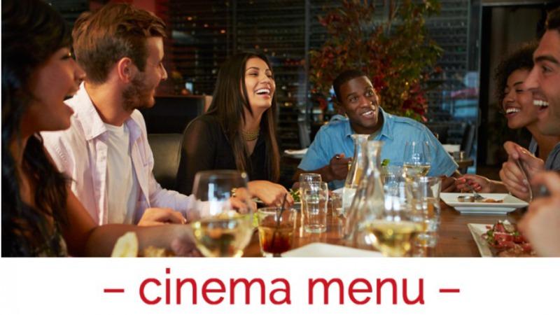 Cinema menu