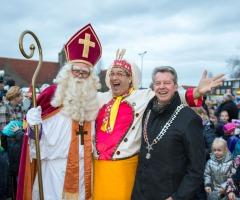 Sinterklaas in de Veldmaat