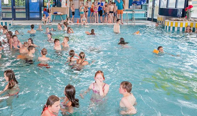 Zwemmen bij Brilmansdennen