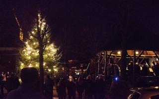 Kerstnacht op de Brink Den Ham