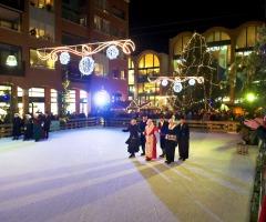 Demonstratie Oud Hollands schaatsen
