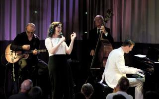 Fay Claassen en Peter Beets trio