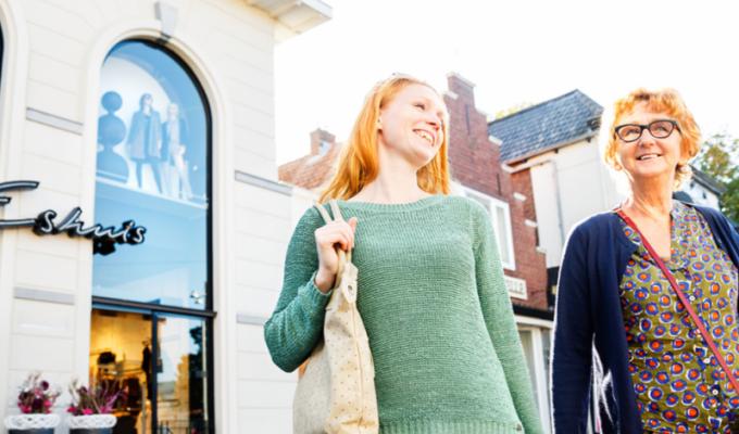 Winkelen in Rijssen; de verrassing van Twente. Het centrum is 'booming'
