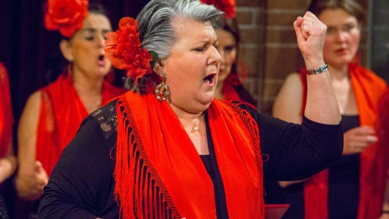 'Una Velada Flamenca' Del campo a la ciudad