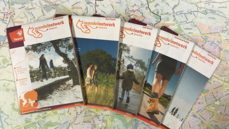 Wandelnetwerkkaarten Twente