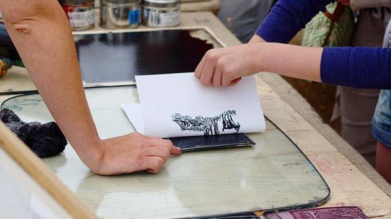 Creahoeve Cursus drukwerktechniek