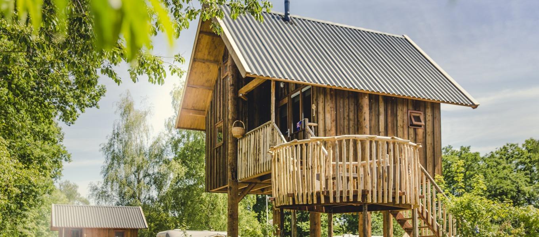 Boomhut op Camping Mölke