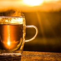 Lekkere kop thee, omdat je het verdiend