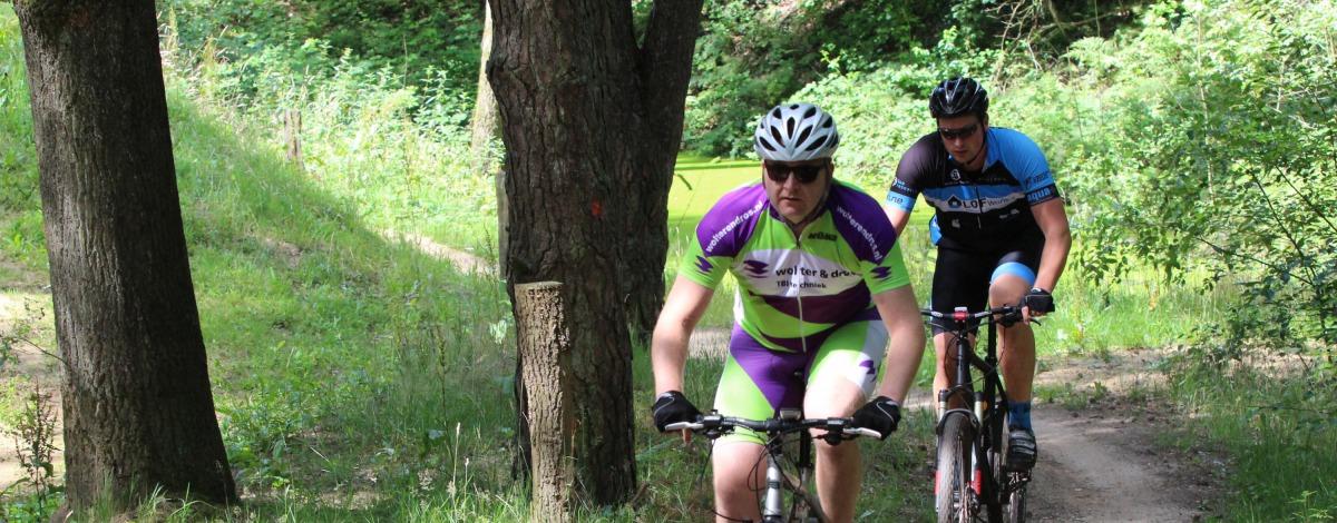 Mountainbiken in de Hof van Twente