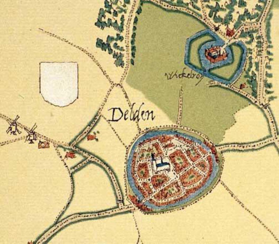 Historisch stadscentrum Delden