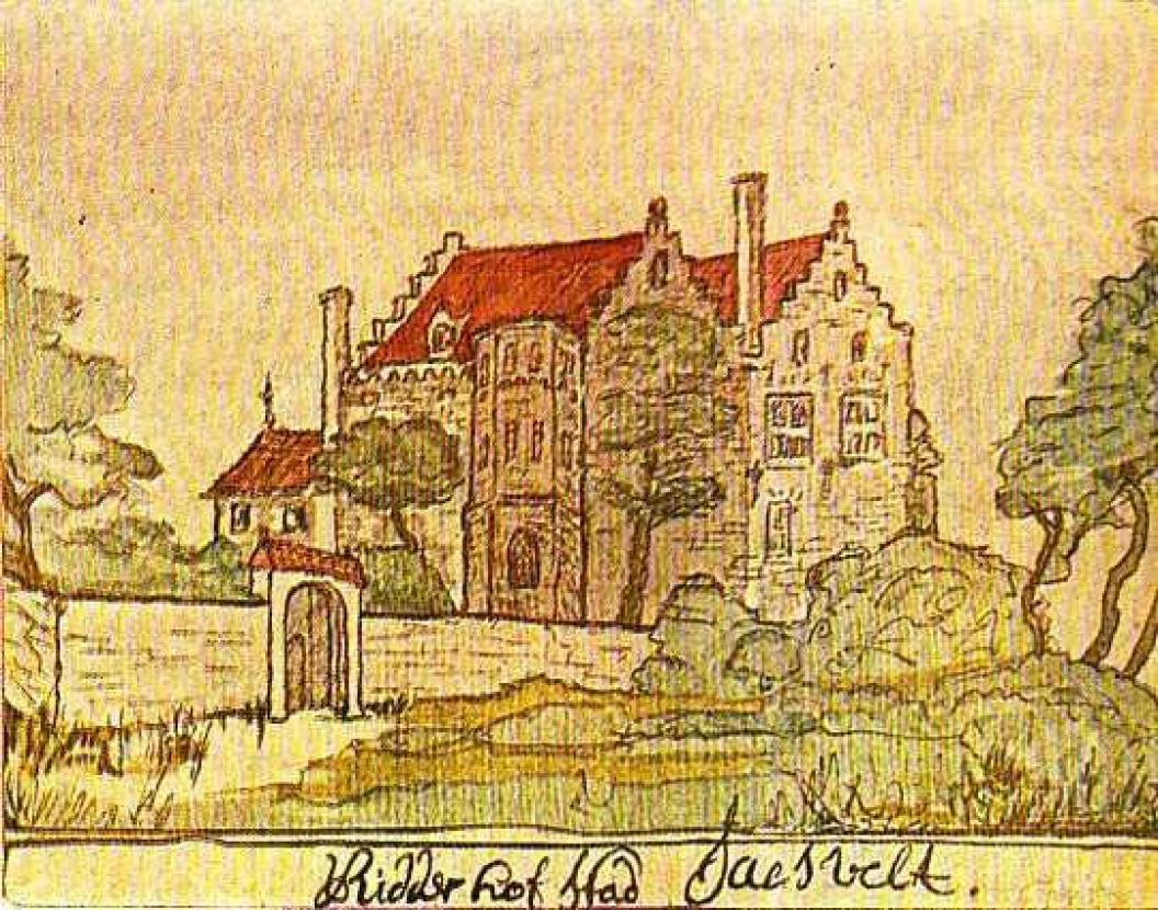 Verdwenen kasteel Saterslo