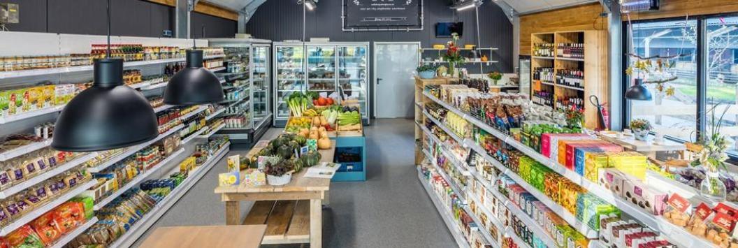 Biologische boerderijwinkel