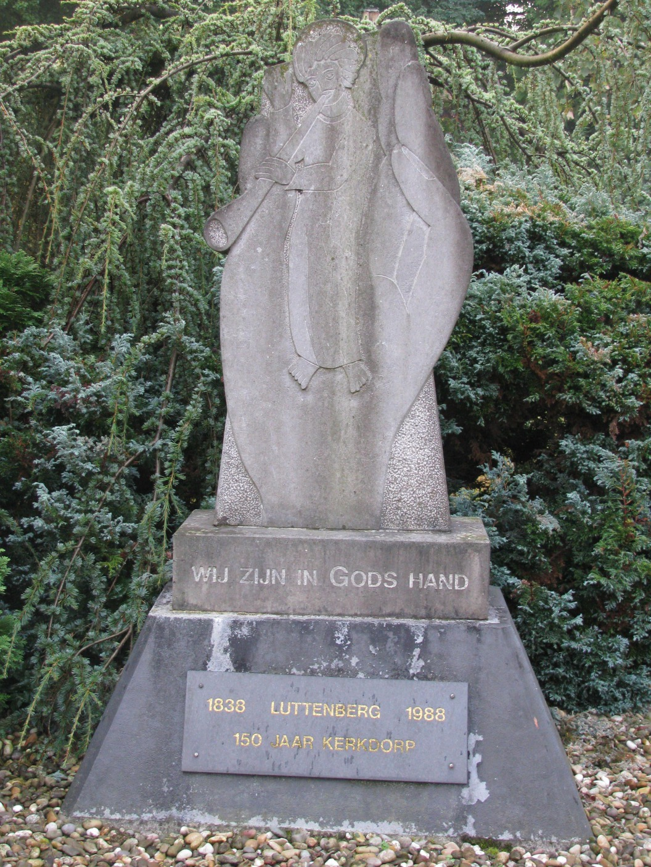 Gedenksteen (vorm van hand)