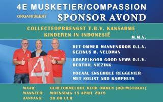 Sponsoravond 4de Musketier/Compassion