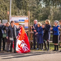Eerste informatiepaneel Routenetwerken Twente geplaatst