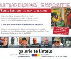 Eerste Lustrum Galerie te Lintelo