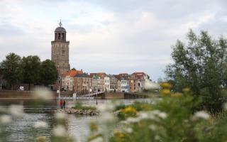 Lentebrocante aan de IJssel