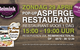 Pop-up ASPERGERESTAURANT