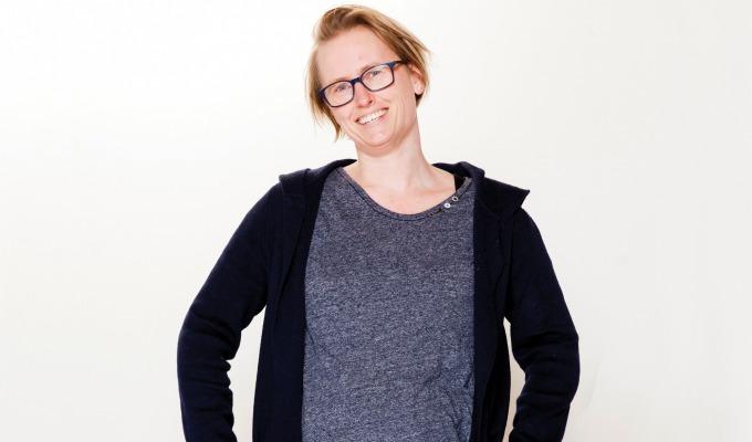 """Kim van Rijssen. Noemt  haar terugkeer naar Twente """"een warm bad""""."""