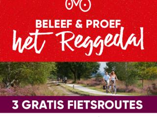 Nieuwe Smaak en Vermaak fietsroutes langs de Regge
